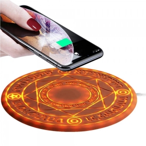 10w magic array circle fast wireless charger power bank for mobile Phone