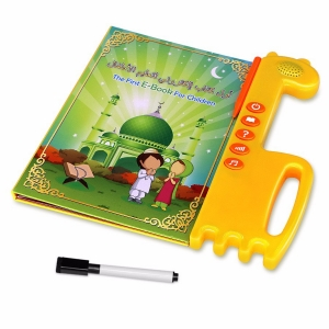 Best-selling e-books for Muslim children Arabic language educational toy OEM education eBook China supplier