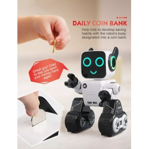 Cady wile robot repeat voice reaction musical robot toy from China supplier
