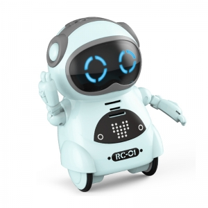 Hot mini robot toy intelligent AI voice robot pocket robot China factory
