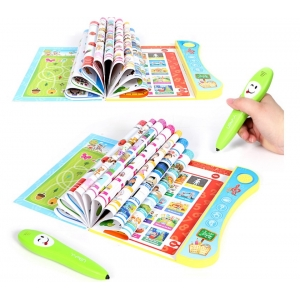 Kids English learning e-book with pen educational toy China supplier