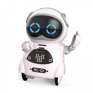 RC kids mini robot toy voice repeat toy China manufacturer