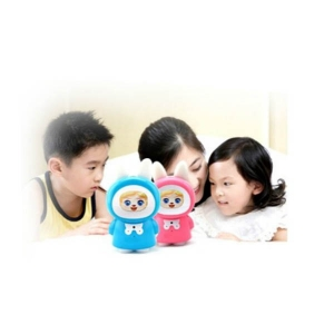 cute rabbit toy story teller with lcd screen for kids