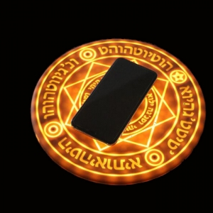 magic array magic circle wireless mobile phone charging
