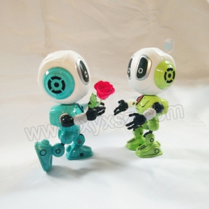voice change and repeat mini robot toy for children best gift, humanoid robot alien, educational toy supplier china
