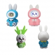 China lovely rabbit animal shape tell story play music record education robot toy factory