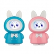 China Chinese supplier pet rabbit shape kids toddler songs music story toy early education robot toy factory