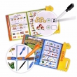 China Children Educational toy wipe and write books toy China supplier factory