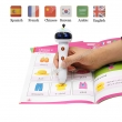 China preschool point reading pen, multi-language children talking pen, from china manufacturer factory