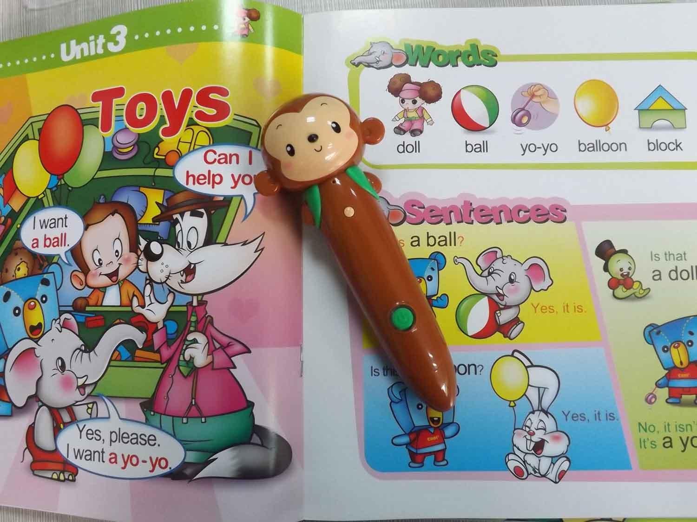 Cheap Educational Toys : Reading pen for kids kids talking pen digital pen talking pen
